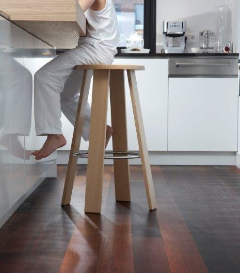 Vloerverwarming en houten vloer