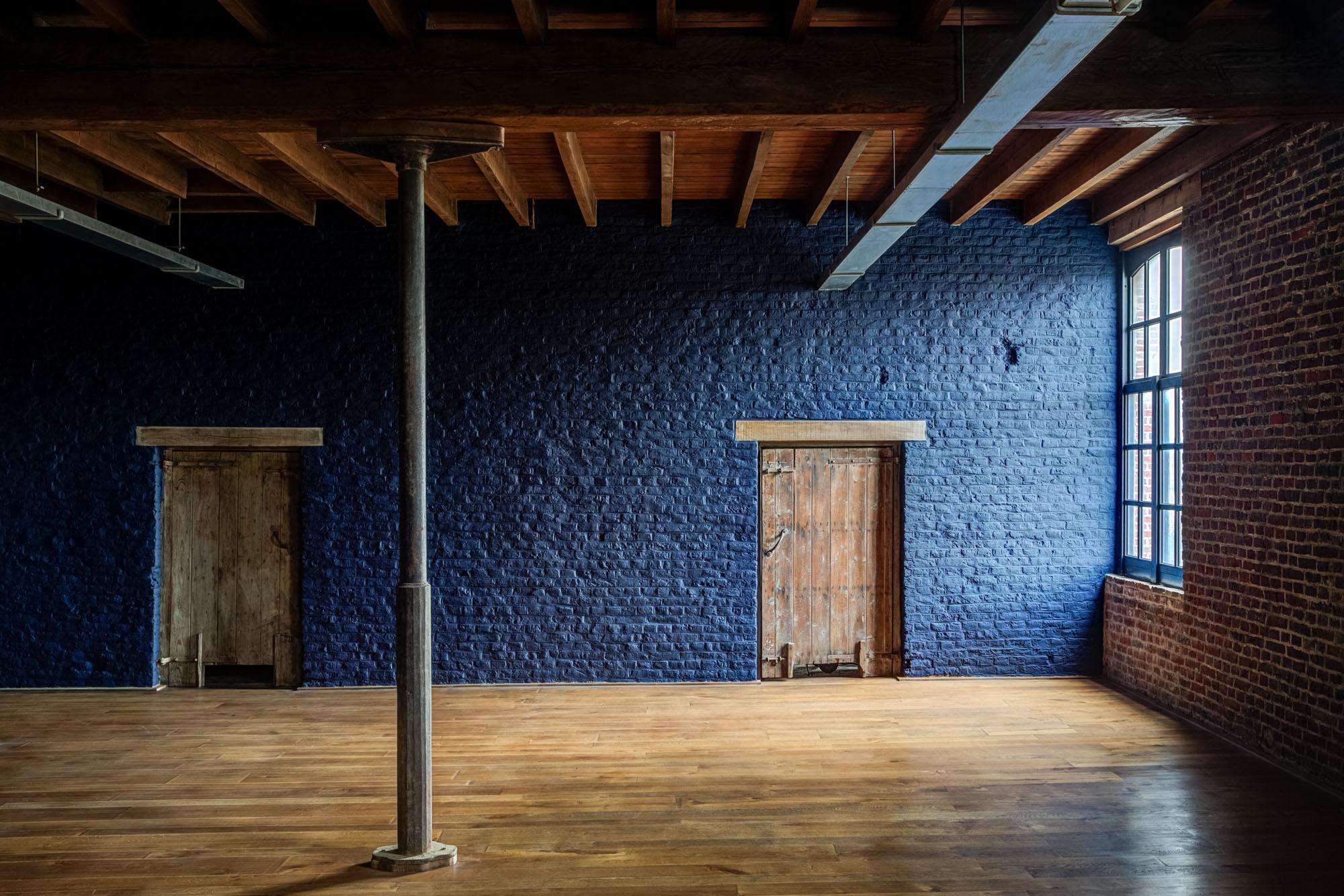 Geverfde houten vloeren